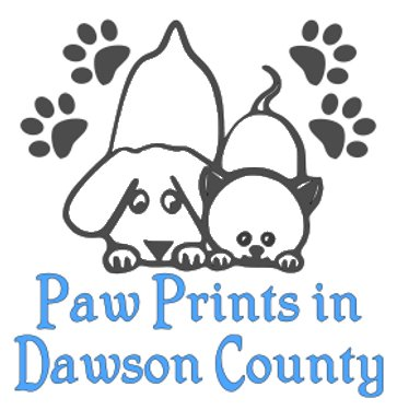 Paw Prints in Dawson County